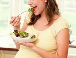 healthy pregnant
